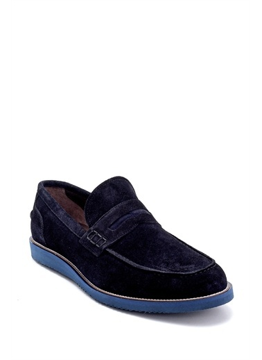 Derimod Erkek Loafer(345-2) Casual Lacivert